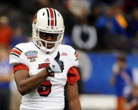 Looking at Teddy Bridgewater and Devante Parker in the 2014 NFL Draft.